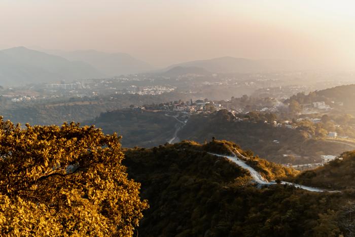 Himalaya Mountains above Dehradun